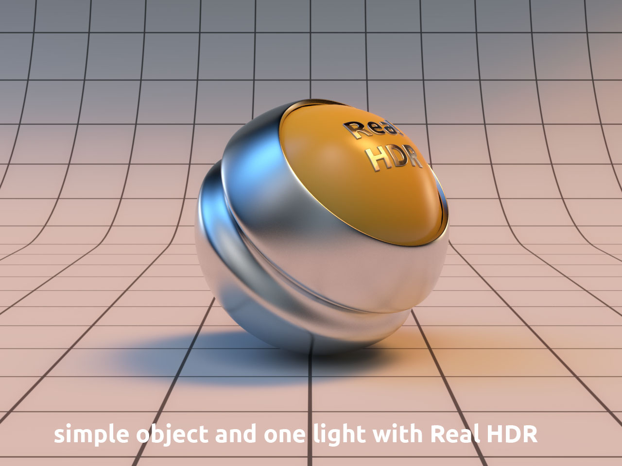 basic render with HDR