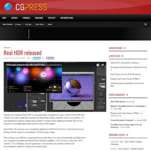 Real HDR released - CGPress
