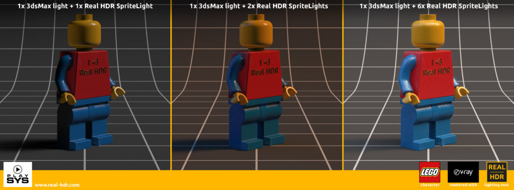 Real HDR 1.0 release - lego